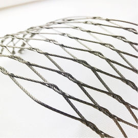 Custom Stainless Steel 304/316 Woven Rope Mesh Hand Knitting High Durability